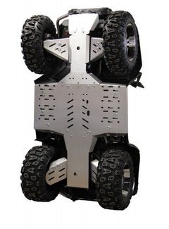 "Iron Baltic Skid plate full kit ""multipart"" CFMoto CForce X8"