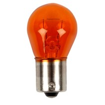 12V 21W LAMPE KUGEL GELB BAU15S ECO