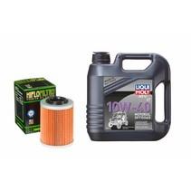 Ölwechselset 4 Liter 10W-40 + Hiflo Ölfilter HF152 für CFMoto Cforce 800