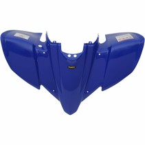 Replacement Plastic Front Fender Yamaha YFZ 450 Bj. 04-13 dark Blue