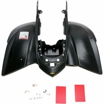 Replacement Plastic Rear Fender Yamaha YFZ 450 Bj. 04-13 stealth