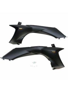 Maier Plastics Replacement Plastic Side Panels Yamaha YFZ 450 Bj. 04-13 stealth