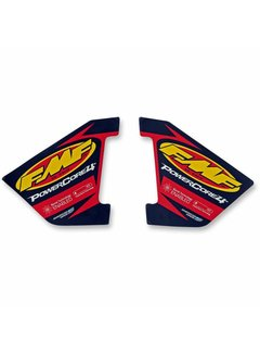 FMF Auspuff Exhaust Replacement Decals Powercore 4