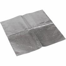Aluminierter Hitzeschutz zum Aufkleben 45,5 x 45,5 cm