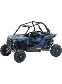 New Jay Miniatur Modell  Polaris RZR XP 1000 1:18 blau