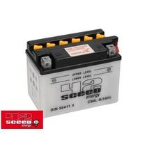Batterie Energy CB4L-B (5AH) mit Säure