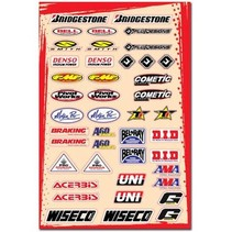 Universal Sponsor Logo Sticker Kit C (30,5 x 45,5 cm)