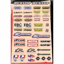 Universal Sponsor Logo Sticker Kit B (30,5 x 45,5 cm)