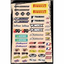Universal Sponsor Logo Sticker Kit A (30,5 x 45,5 cm) - Copy