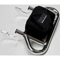 Gepäckträger Pack Rack chrom für Yamaha YFM 700 R