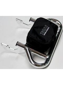 XRW Gepäckträger Pack Rack chrom für Yamaha YFM 700 R
