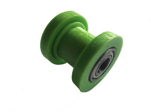 Wingsmoto Kettenroller grün innen 10mm aussen 36mm