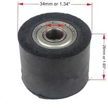 Gummi Kettenrolle 10 mm / 34 mm
