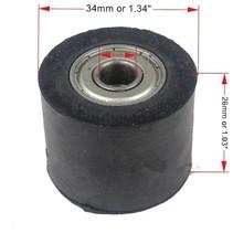 Gummi Kettenrolle 8 mm / 34 mm
