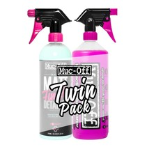 1 Liter CLEANER & 750ML MATT FINISH DETAILER TWIN PACK + Gratis Sponge