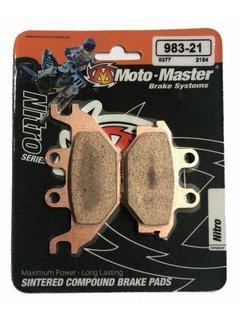 Moto Master Bremsbelege Brakepad 98321 Front - Rear