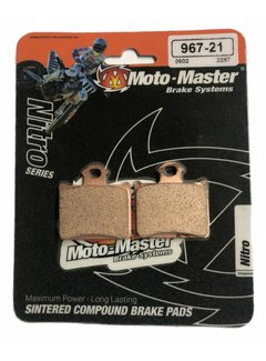 Moto Master Brakepad 96721 Rear für KTM Husqvarna 85