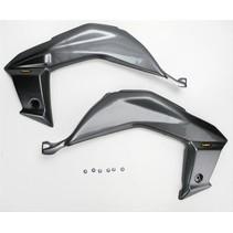Side Panel Set Kawasaki KFX 450 R in Carbon Look