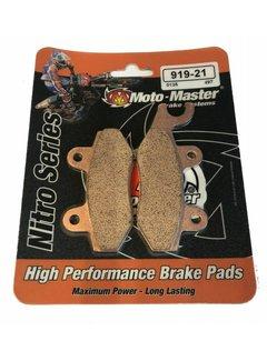 Moto Master Bremsbelege Brakepad 91921 vorne/hinten