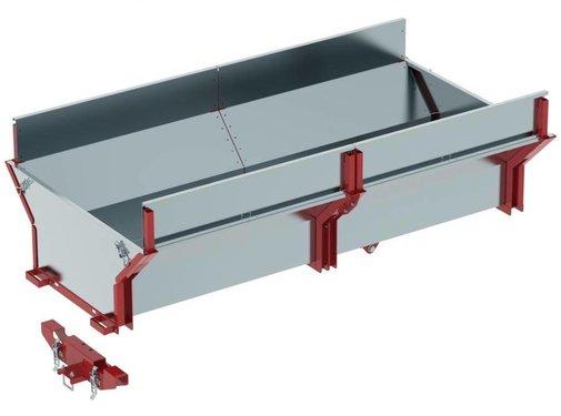 Iron Baltic Cargo Box für Trailer IB 1000