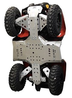 Iron Baltic Skid plate full set (aluminium) CanAm G2 Outlander 450 / 500 / 570