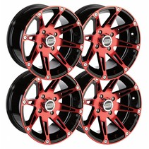 Felgensatz 12 Zoll 387X rot Wheels