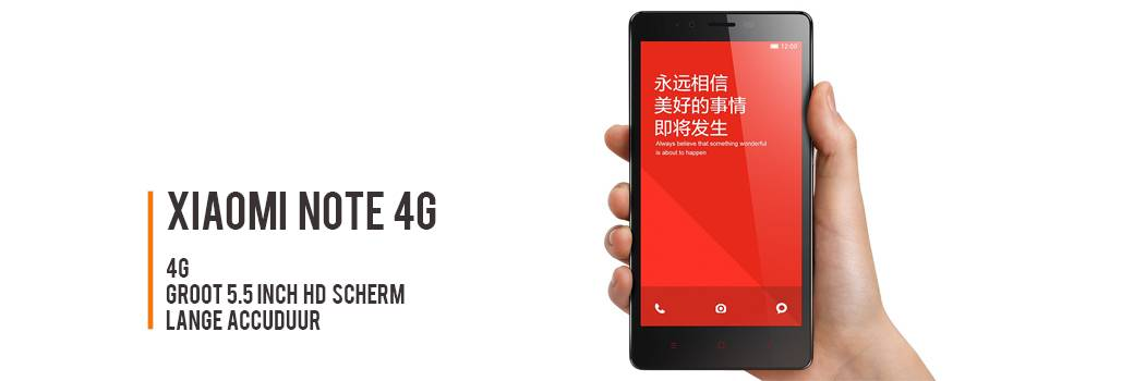 Xiaomi Note 4g