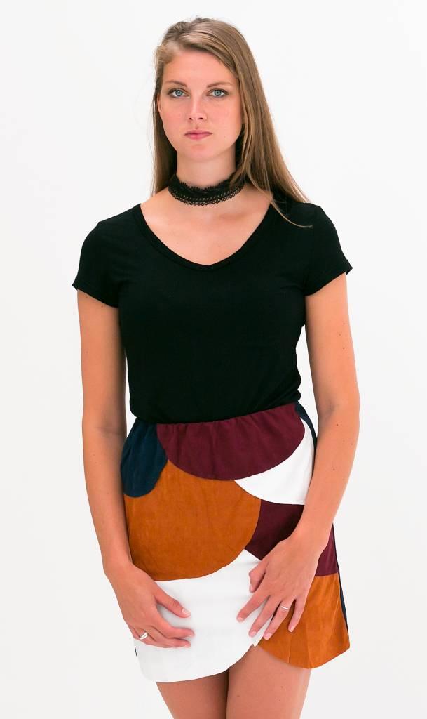 Soft Basic Zwart T-shirt