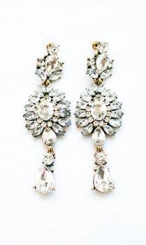 Statement Crystal Earrings
