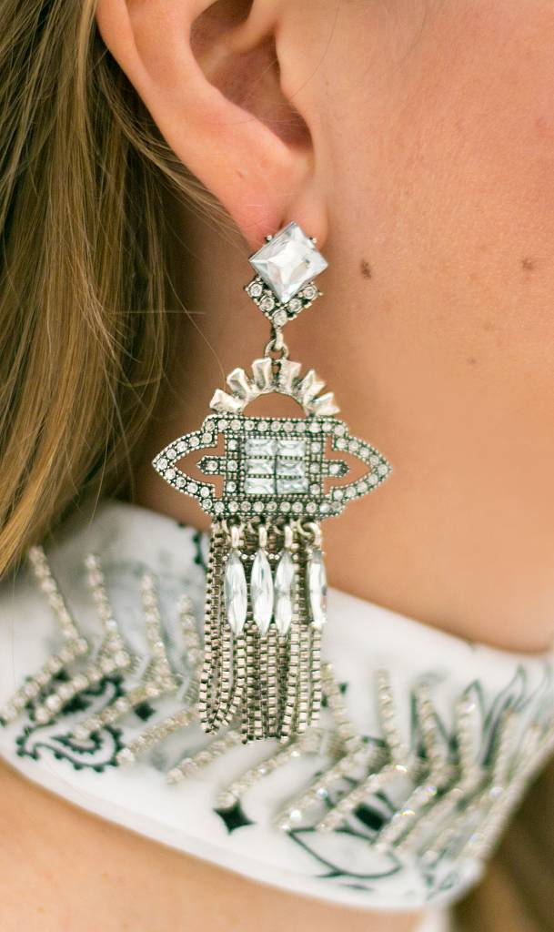 Goddess Statement Earrings