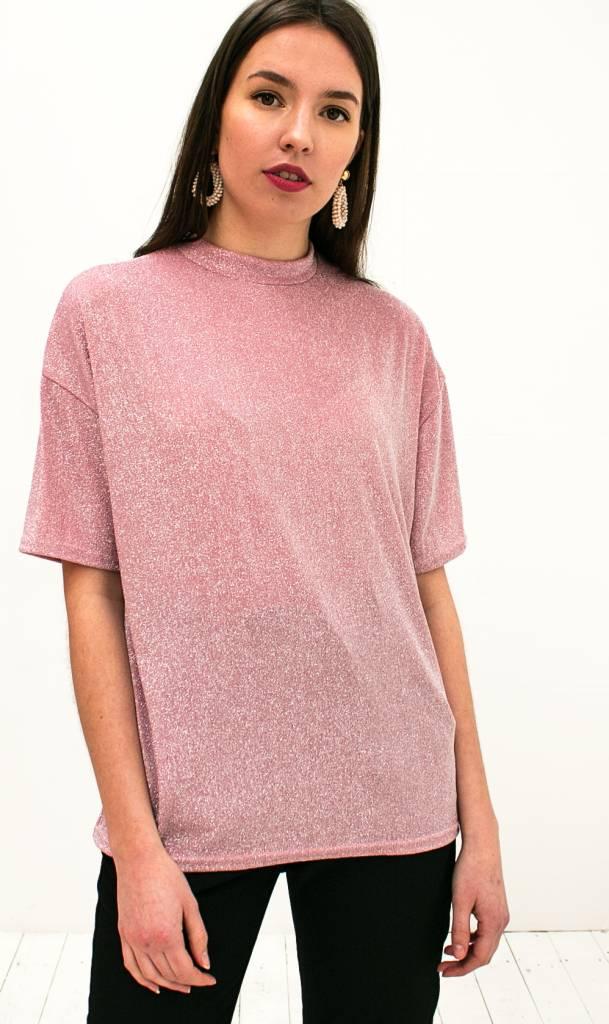 Genoeg Bestel Roze Glitter Tshirt | Musthaves Kleding Webshop Trix La Mix #DQ34