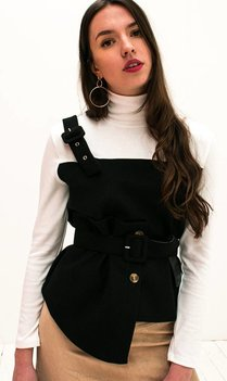 Contrast Top with belt