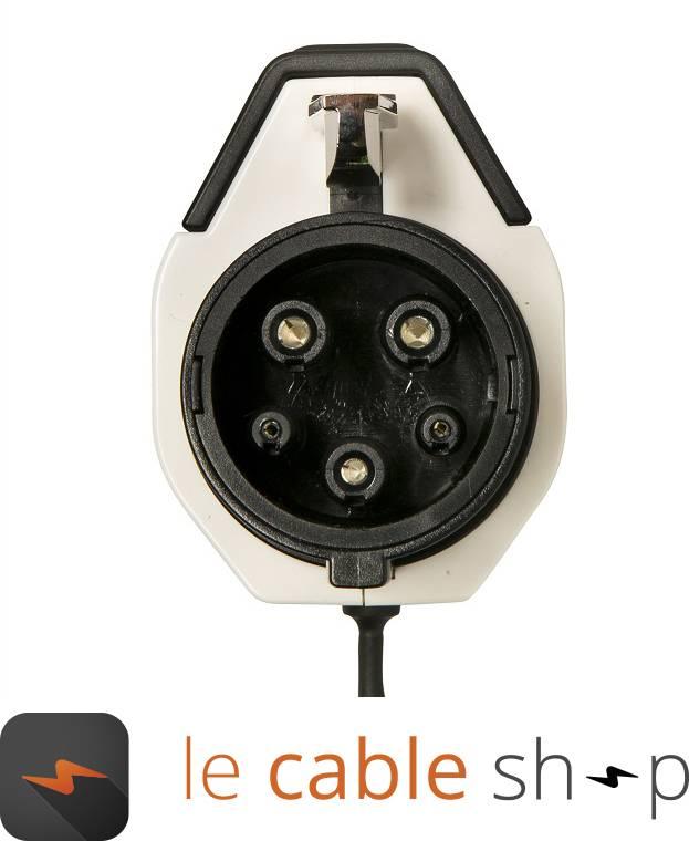 ratio c ble de recharge v hicule lectrique 16a monophas type 3 type 1 4 m tres. Black Bedroom Furniture Sets. Home Design Ideas