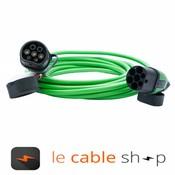 Ratio Câble de recharge véhicule électrique 16A Triphasé Type 2 - Type 2 (8 mètres)