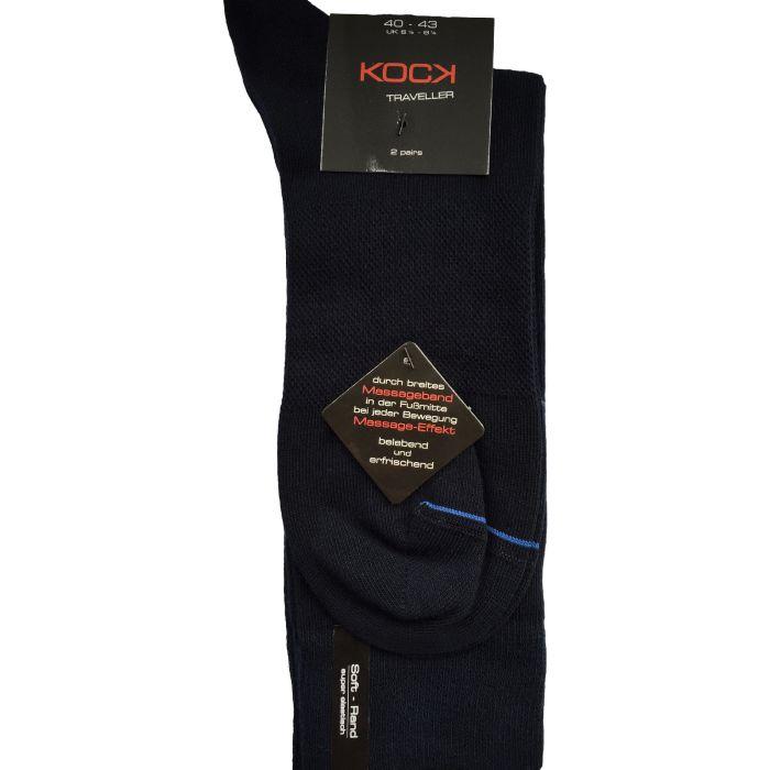 2-pack blauw met massage-effect
