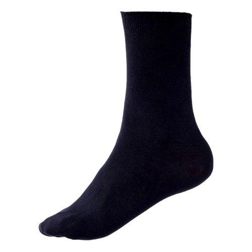 Kock Sockswear Dunne Naadloze herensokken Donkerblauw