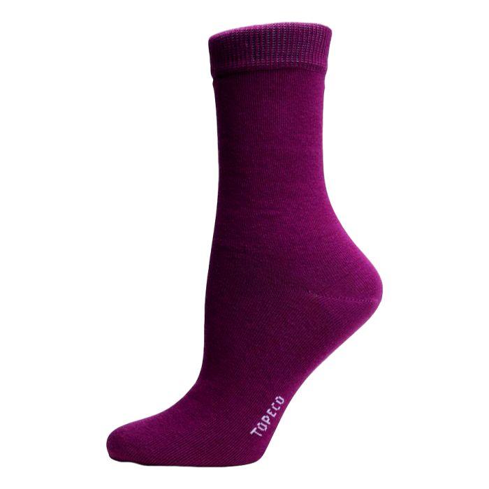 Effen gekleurde sokken