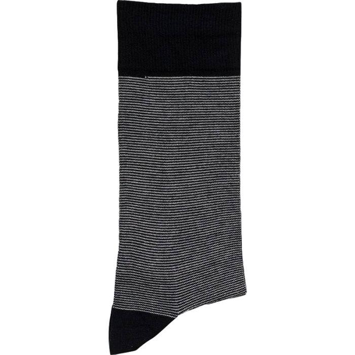 """Sok van Egtved in nieuwe en spannende """" bamboe """" kwaliteit in marine blauw en grijs"""