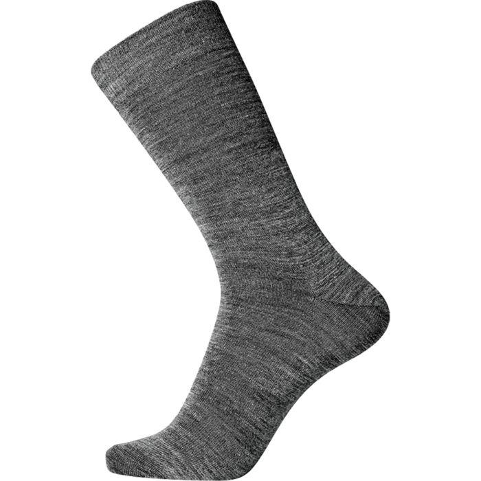 Wol met katoenen binnenkant grijs