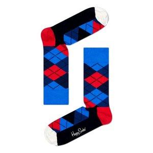 Happy Socks Argyle Kobaltblauw