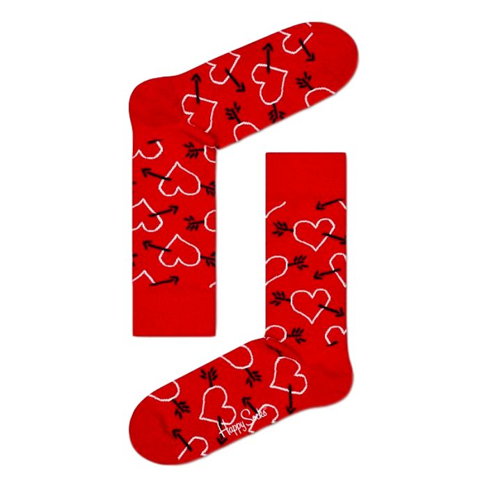 Arrow & Heart Socks 2