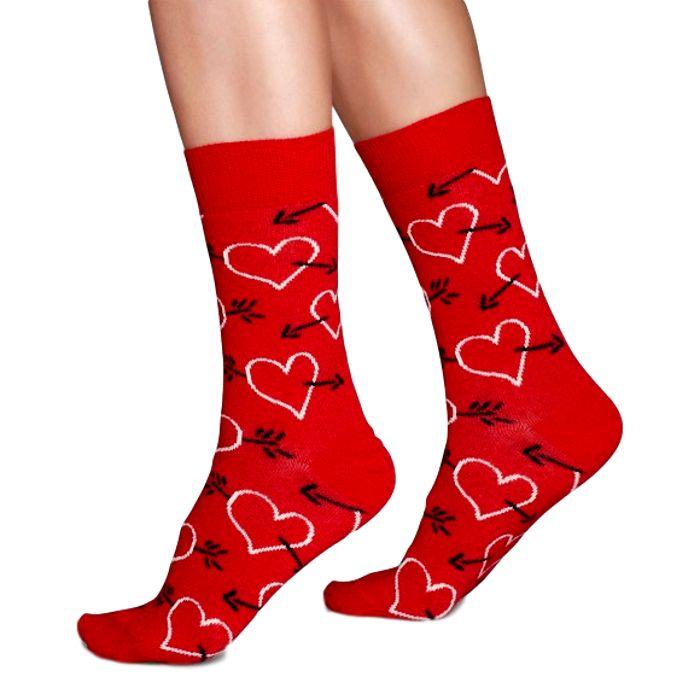 Arrow & Heart Sock