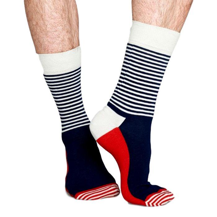 Stripe Half in het rood, wit en blauw