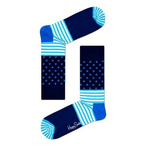 Happy Socks Stripes & Dots blauwtonen