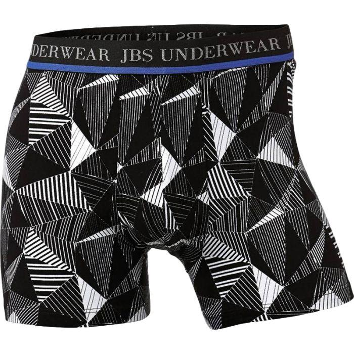 Boxershort zwart dessin