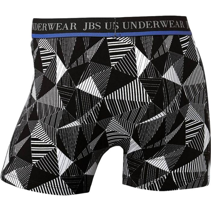 Boxershort van JBS, zwart met verschillende dessins