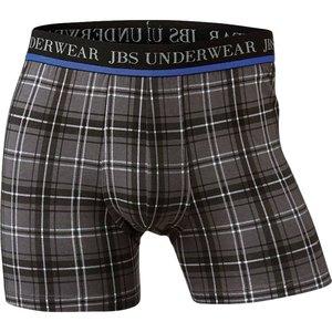 JBS Boxershort grijs met ruit