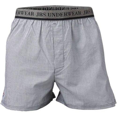 JBS Boxershort grijs/wit gestreept