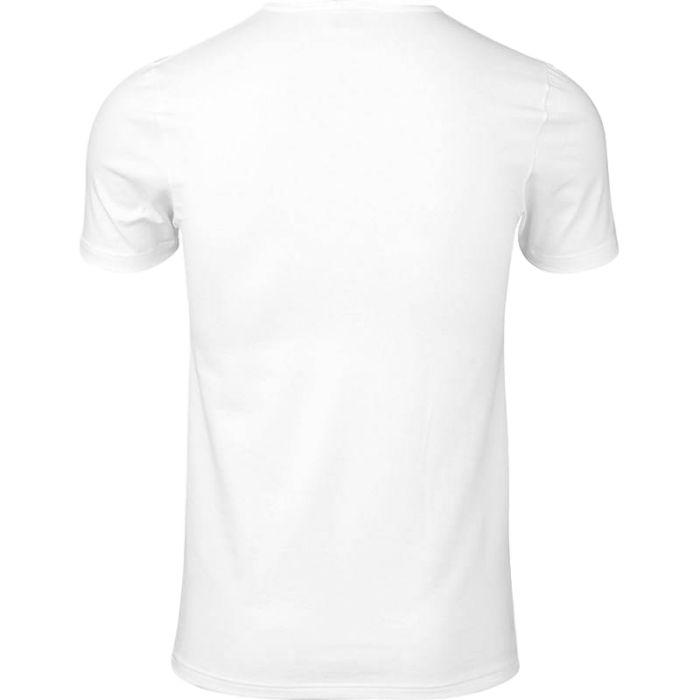 2-Pack T-shirt met ronde hals van JBS, in de kleur wit