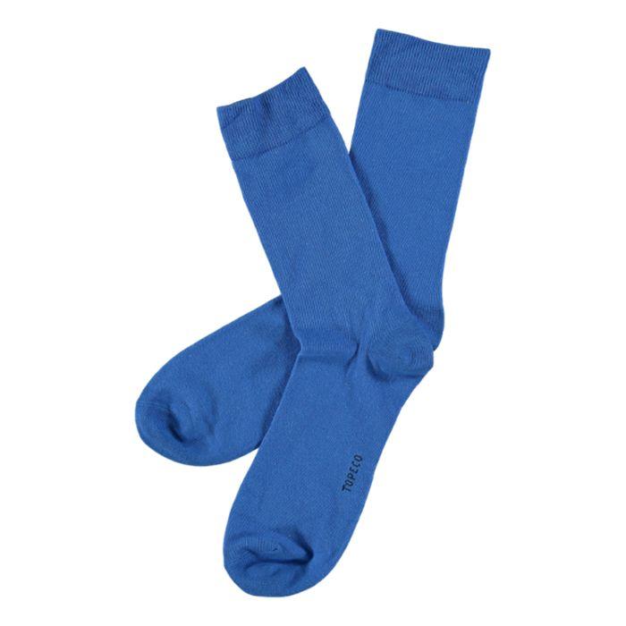 Herensokken uni blauw